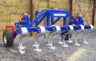 Front cultivator